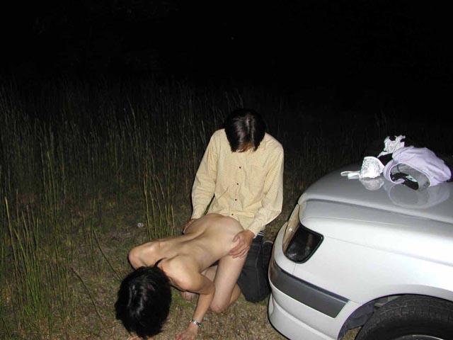 野外セックス 画像 1